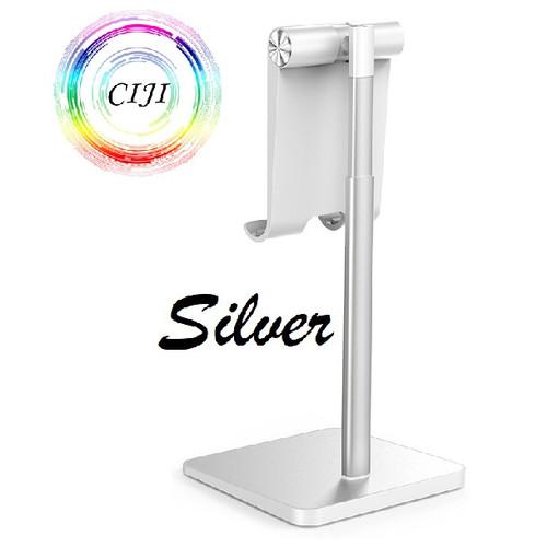 Foto Produk CIJI New Smartphone Tablet Holder Adjustable Angle and Height - Putih dari Circle Jaya Indonesia