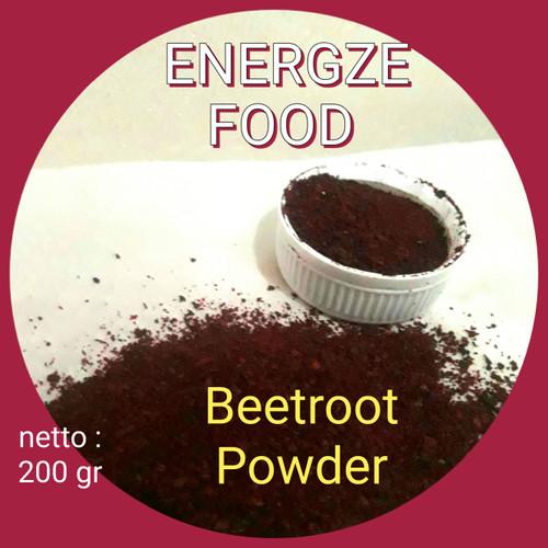 Foto Produk Beetroot Powder - Energze Food 200 gram dari energzewatercom