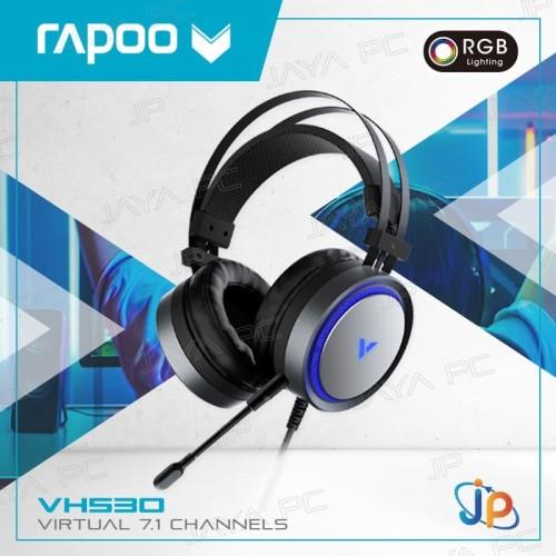 Foto Produk Rapoo VPro VH530 RGB Gaming Headset/ Headphone 7.1 Virtual dari Jaya PC