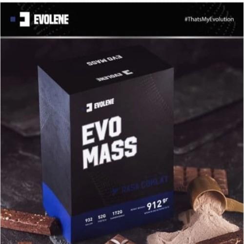 Foto Produk Evolene EvoMass 2 Lbs 912 Gram Evo Mass Gainer 10Lbs 4,5kg SUDAH BPOM dari madeformen