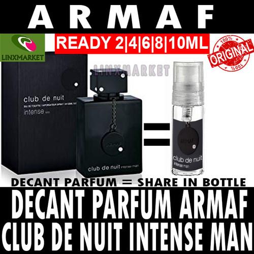 Foto Produk DECANT PARFUM ARMAF CLUB DE NUIT INTENSE MAN SIZE 2ML 4ML 6ML 8ML 10ML - 2ML dari Linxmarket