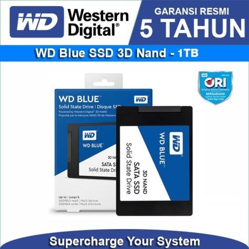 Foto Produk SSD WD Blue 3D NAND 1TB SATA III 3D 6Gb/s dari WD Official Store