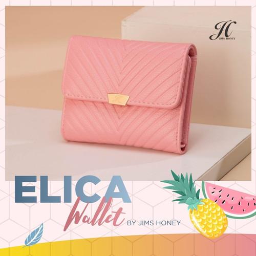 Foto Produk Jims Honey - Elica Wallet Dompet Wanita Dompet Lipat - Merah Muda dari JIMS HONEY OFFICIAL