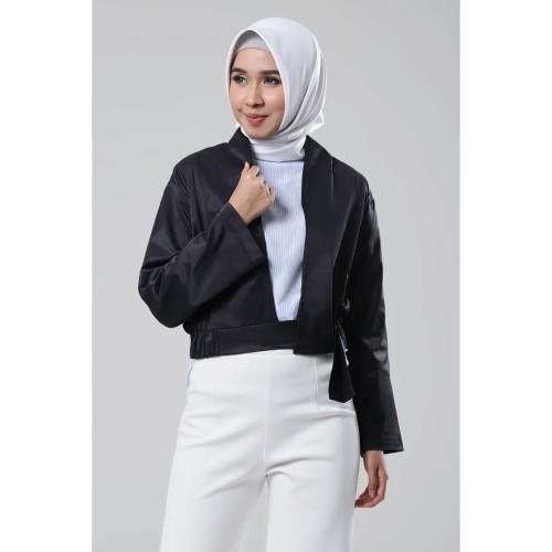 Foto Produk Fashion Muslim Terbaru| Jacket Wanita Termurah | Avva Jacket G - Black dari Covering Story