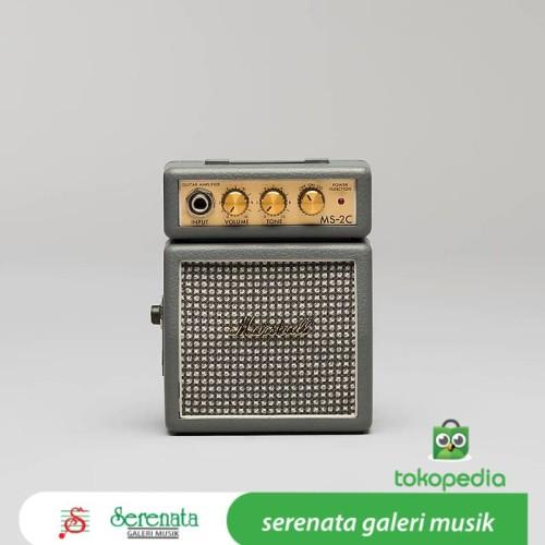 Foto Produk Marshall MS 2C Mini Guitar Ampli / Marshall MS-2C dari Serenata Galeri Musik
