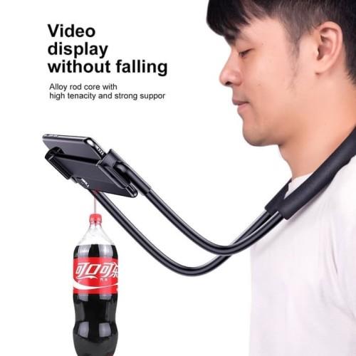Foto Produk BASEUS LAZYPOD LEHER PINGGANG LAZY NECK PHONE HOLDER STAND HP LAZYNECK dari BASEUS JAKARTA