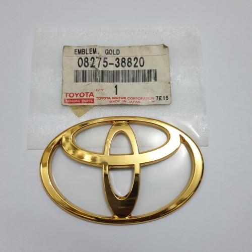 Foto Produk logo toyota gold kijang KF70 belakang 08275-38820 dari toko#dirumahaja