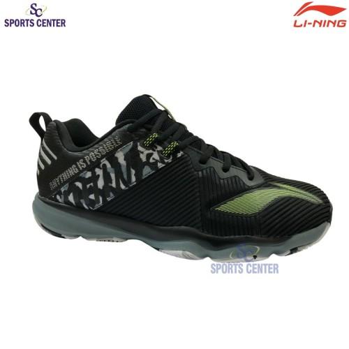 Foto Produk Sepatu Badminton Lining Ranger 4.0 / IV TD AYTQ 053 / AYTQ053-2 Black dari Sports Center
