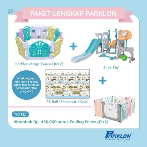 Foto Produk Paket Fence Folding, Slide 5in1 & PE Roll 1.5 cm [BACA DESKRIPSI] dari Parklon Indonesia