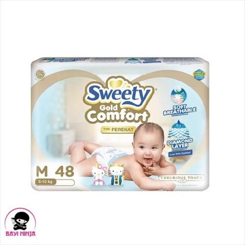 Foto Produk SWEETY Comfort Gold Perekat M48 / M 48 dari BAYININJA