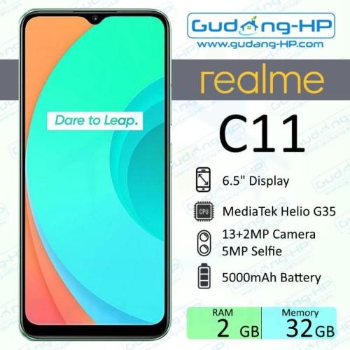 Foto Produk Realme C11 2/32 GB Garansi Resmi - Hijau dari Gudang-HP