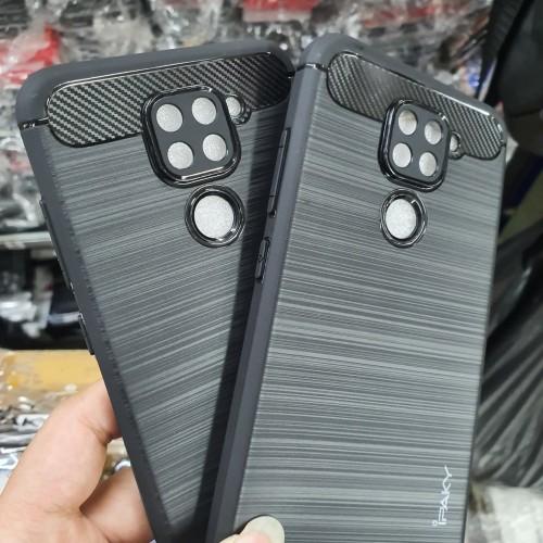 Foto Produk Softcase Slim Fit Carbon Ipaky Xiaomi Redmi Note 9 Soft Case dari sense accessories