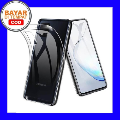 Foto Produk Samsung Galaxy Note 10 Lite -Transparan Clear Soft Case Cover dari Max Case