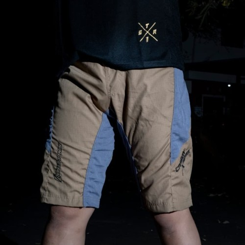 Foto Produk Celana Sepeda STR CARBON Brown dari Laju Mulia