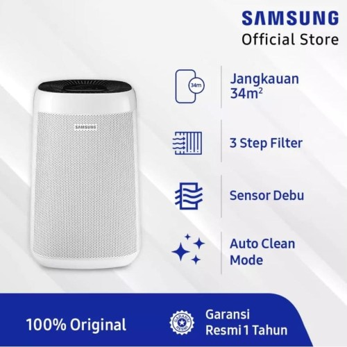 Foto Produk Samsung Air Purifier AX34R AX34R3020WW with 4 Color Indicator dari SCS E-MART