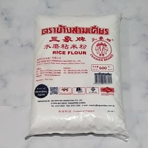 Foto Produk tepung beras thailand / erawan brand / rice flour 600gram dari serbaoriginalshop