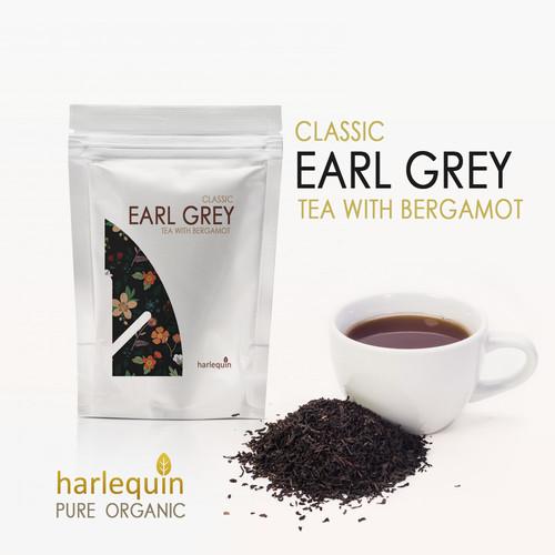 Foto Produk Teh Earl Grey Bergamot 150 Gram Earl Grey Classic Tea dari Harlequin Herb