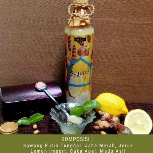 Jual Juice Herbal Bawang Putih Lanang Jahe Merah Madu Asli Cuka Apel 650ml Jakarta Timur Global Christy Tokopedia