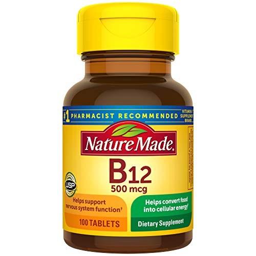 Foto Produk Nature Made Vitamin B12 500 mcg Tablets, 100 Count for Metabolic Healt dari Exborders