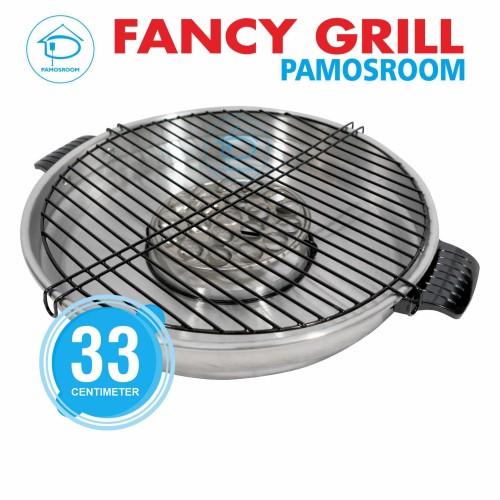 Foto Produk Maspion Fancy Grill 33 Cm / Alat Panggang Roaster Panggangan 33cm dari Pamosroom Living