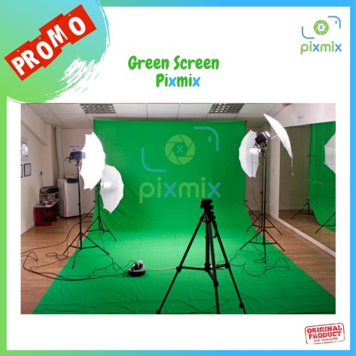 Foto Produk Green Screen 2,4x3m dari pixmix