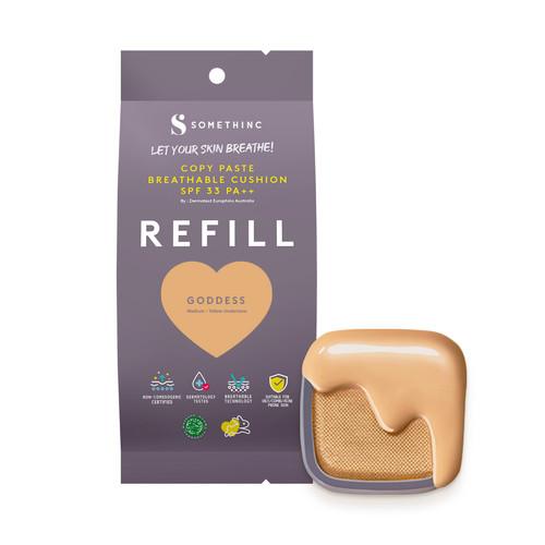 Foto Produk [REFILL] SOMETHINC Copy Paste Breathable Cushion SPF33 PA++ 15gr - GODDESS REfill dari HNCbeauty