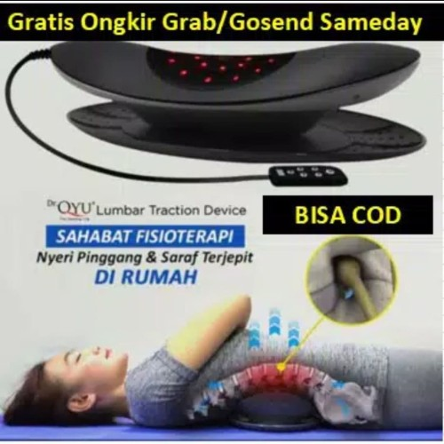 Foto Produk Dr Qyu - Alat Terapi Saraf Kejepit - Terjepit - Dr.Qyu Lumbar Traction dari Aneka Collection