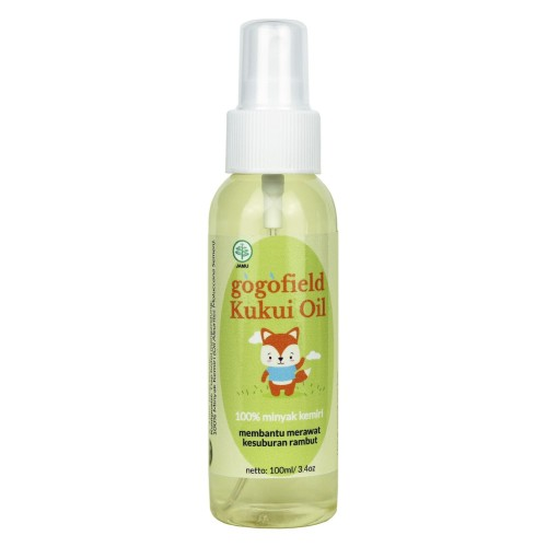 Foto Produk Gogofield Kukui Oil Spray 100ML (100% Minyak Kemiri) dari Marveila & Friends