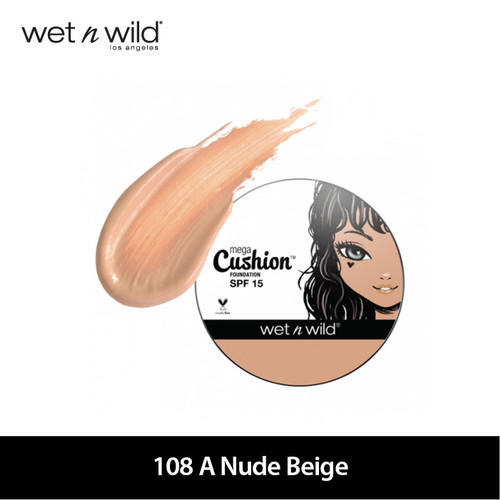Foto Produk Wet N Wild MegaCushion Foundation SPF 15 - Nude Beige dari Wet N Wild Official