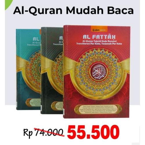 Foto Produk Al-Quran Latin Per Kata Al-Fattah (A5) dari Grosir Produk Muslim