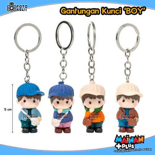 Foto Produk Gantungan Kunci Anak - Boys & Girls Keychain - BOY dari MainanPlus