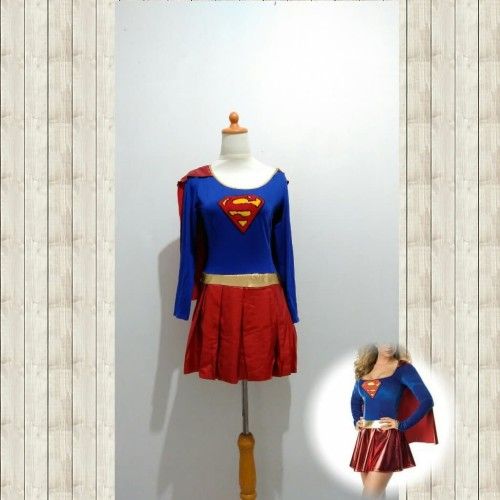 Foto Produk L-1246 - Lingerie Superwoman costume cosplay dari Lingerie X Lingerie
