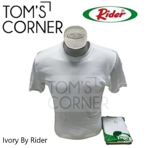 Foto Produk Kaos dalam pria Ivory by rider   pakaian dalam   oblong   baju   IV101 - L dari TomsCorner