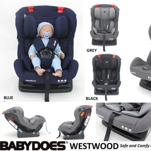 Foto Produk Carseat Babydoes Westwood Kursi mobil Bayi - Biru dari Kemenangan Baby Shop