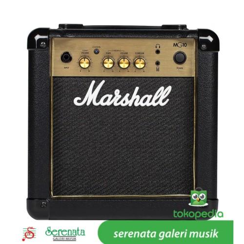 Foto Produk Marshall MG 10G Guitar Ampli Combo / MarshallMG10G / Marshall MG-10G dari Serenata Galeri Musik