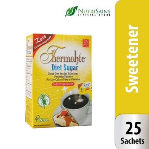 Foto Produk Thermolyte Diet Sugar 25`S / Gula Tanpa Kalori / Gula Diet dari Nutrisains Official