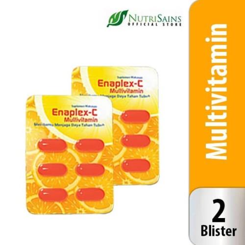 Foto Produk Enaplex-C (Isi 2 Blister) Vitamin C dan B Kompleks Suplemen Kesehatan dari Nutrisains Official