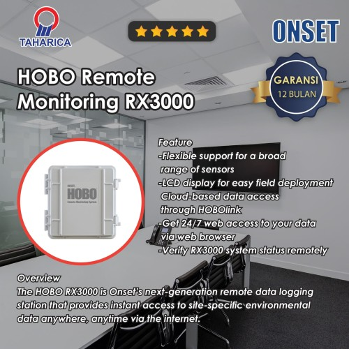 Foto Produk HOBO Remote Monitoring Station Data Logger - RX3000 dari Raya Stock