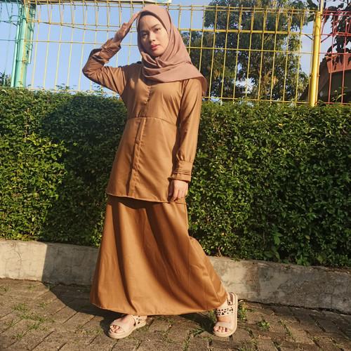 Foto Produk Muslimore - Gamis Pemda Toyoba Premium Series Profesi PNS - S, Pemda dari muslimore
