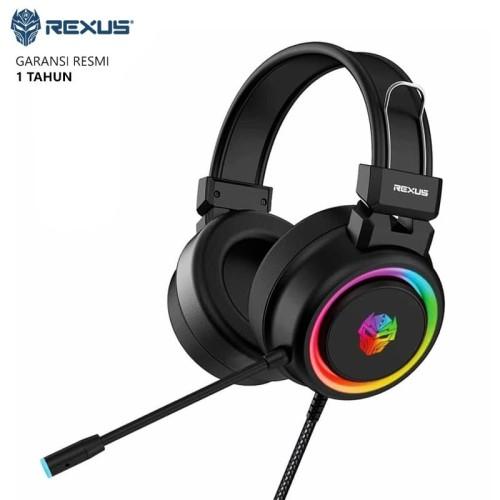 Foto Produk Headset Gaming Rexus Vonix F30 LED RGB Spectrum dari Ridista Official Store