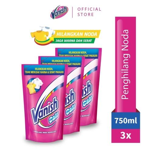 Foto Produk Vanish Liquid Pembersih Noda 750ml x 3 dari RB Hygiene Home Official