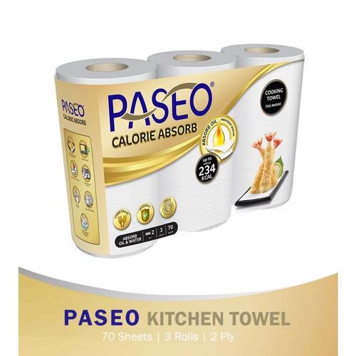 Foto Produk Tissue Paseo Kitchen Towel Roll Bundle 3 dari barangmurahdonk