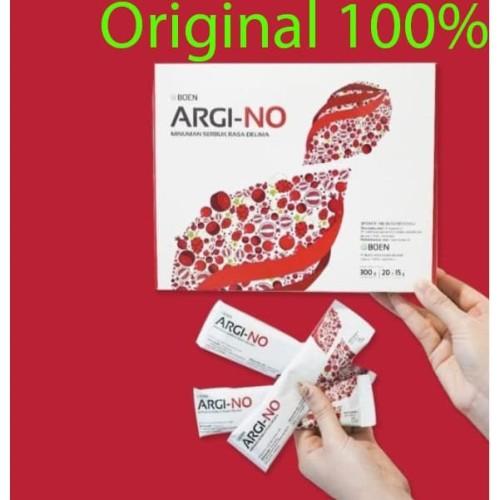 Foto Produk argi-no suplemen kesehatan jantung dan pembuluh darah dari Sehat long life