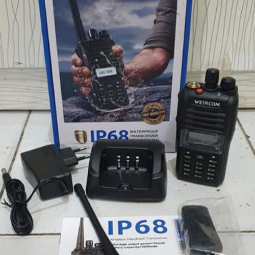 Foto Produk HT Weircom WR808 VHF 10 Watt Waterprof dari valen elektronik