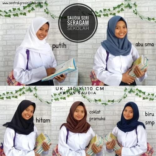 Foto Produk Jilbab Segi Empat SAUDIA ORIGINAL Polos Rawis - Warna lain dari adabusana