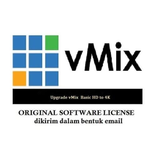 Foto Produk Upgrade vMix Basic HD to 4K dari ADM tekno