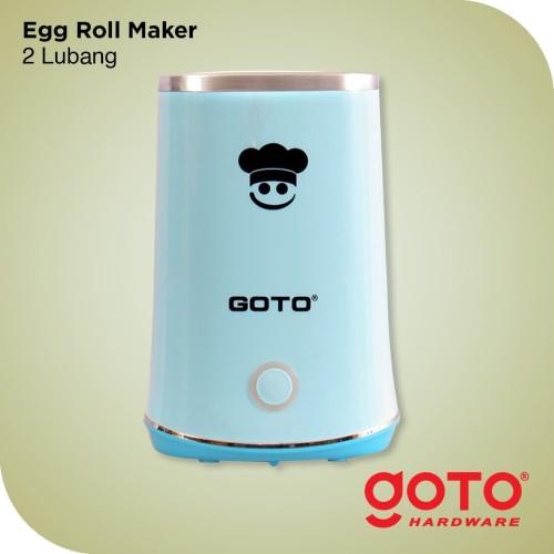 Foto Produk Mesin Sosis Telur Sostel Listrik Egg Roll Hotdog Sausage 2 Lubang dari GOTO Hardware
