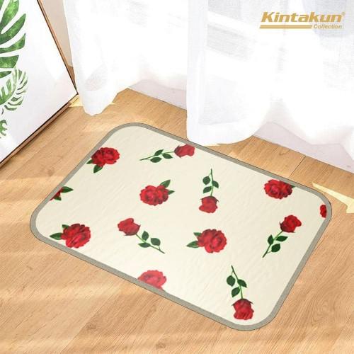 Foto Produk Kintakun KesetCantikLembut Anti Slip Dekorasi Rumah 60x40cm - Blooming dari Home-klik