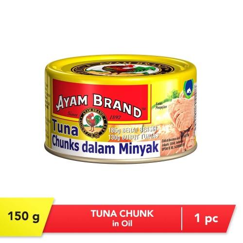 Foto Produk Ikan tuna Chunk in Oil 150g Ayam Brand dari Wong Coco
