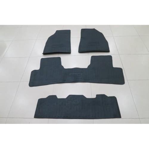 Foto Produk KARPET KARET DATSUN GO+ HITAM FULL SET ( 3 BARIS ) dari Multi Accesories Store